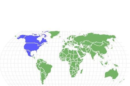 American Robin Locations