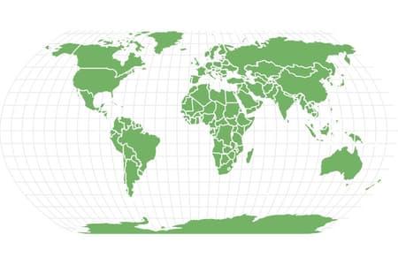 Antarctic scale worm Locations