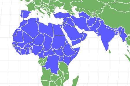 Desert Locust Locations