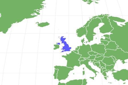 English Pointer Locations