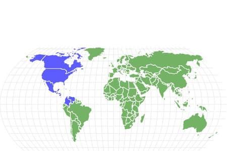 Gray Fox Locations