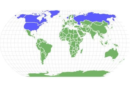 Muskox Locations