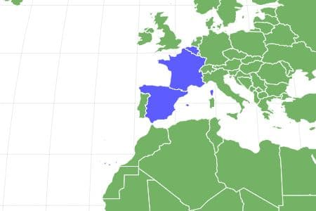 Papillon Locations