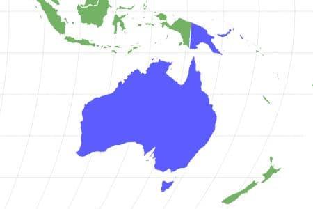 Tree Kangaroo Locations