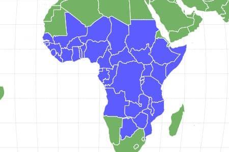Tsetse Fly Locations