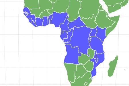 African Palm Civet Locations
