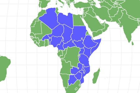African Wild Dog Locations
