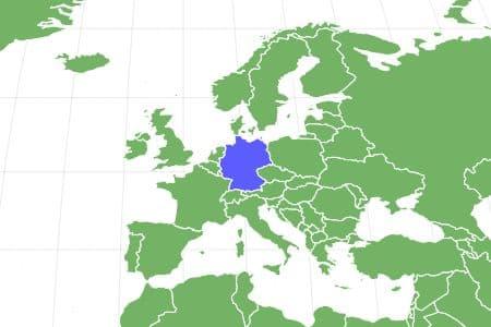 Deutsche Bracke Locations