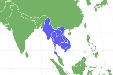 Indochinese Tiger Locations