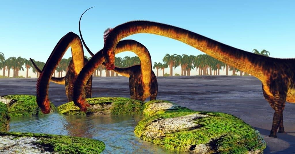 Los dinosaurios más grandes de la historia: Barosaurus lentus