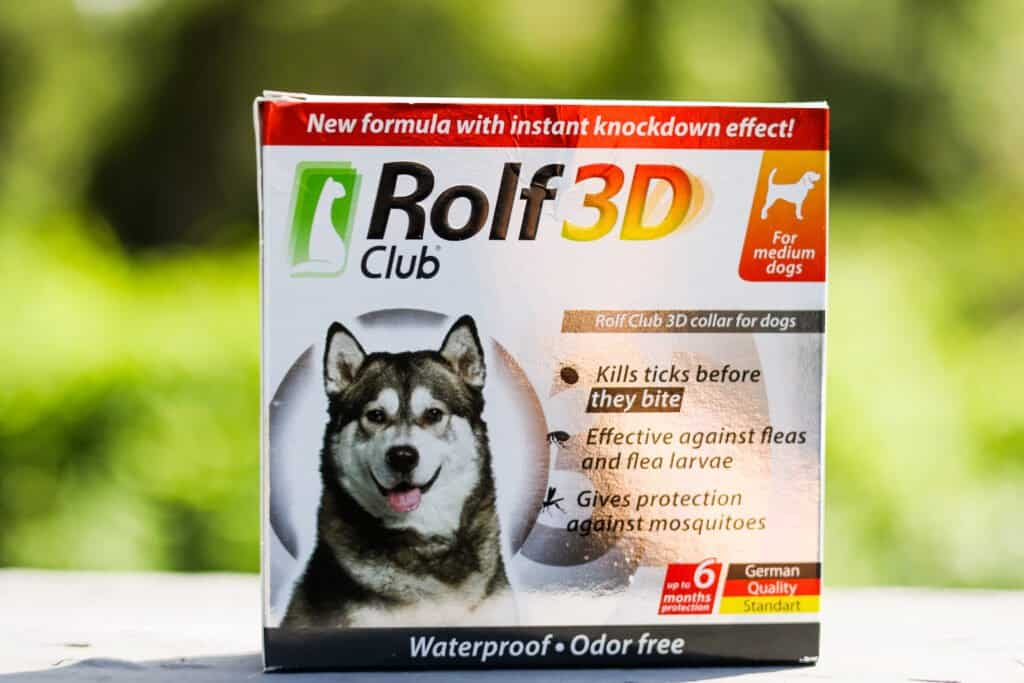 Rolf Club 3D flea & tick collar for dogs