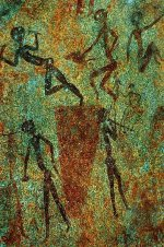 Bushmen Rock Painting   <a href=
