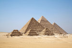 Pyramids of Giza, Egypt   <a href=